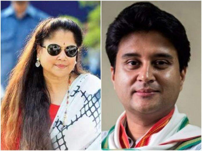 Jyotiraditya sat on the same post as 'Dada' took flight! Yashodhara Raje congratulated
