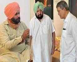 Navjot Singh Sidhu takes over as Punjab Congress President | Captain Amarinder Singh