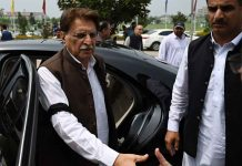 Pak Occupied Kashmir's PM furious on losing the election- Raja Farooq Haider