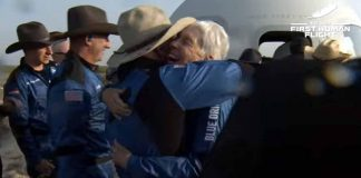 First Human Spaceflight: Jeff Bezos and his three companions returned to Earth safely