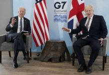 Joe Biden and Boris Johnson spoke on the situation in Afghanistan, today the G-7 virtual meeting