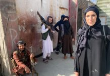 US reporter Clarrisa Ward appeared in burqa as soon as Talibani was captured