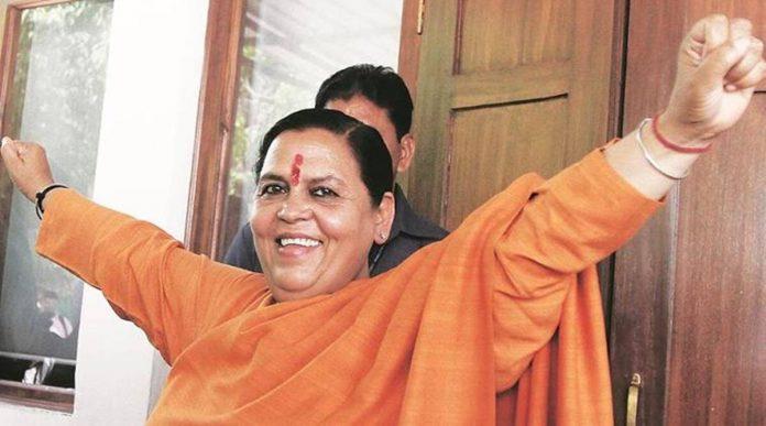 After controversial statement on bureaucracy- Uma Bharti said that improve her language