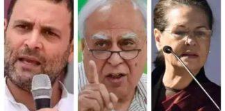 Sibal- Azad- Tiwari: G-23 leaders return to 'form' as soon as Sidhu is 'out'