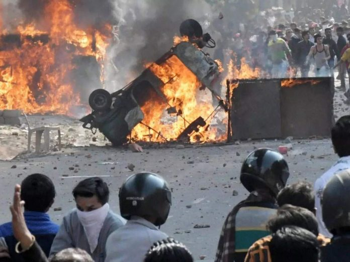 If you see the history- the police will read the pain of the court on Delhi riots