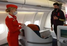 Footballer formed a relationship inside the flight- the air hostess disclosed this way