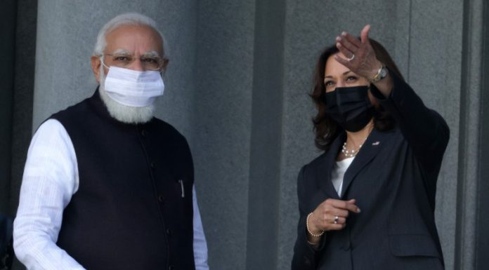 These pictures of Modi and Kamala in the corridor of the White House must be troubling Pakistan