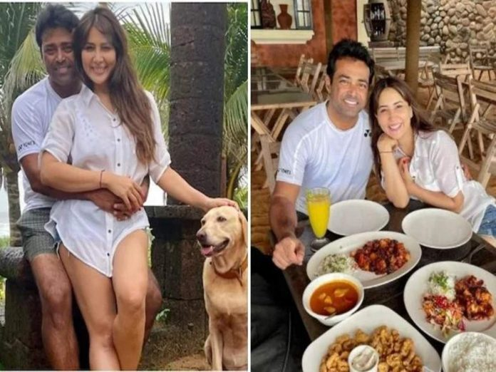 Kim Sharma confirms relationship with Leander Paes! Share photo while posing in a romantic style