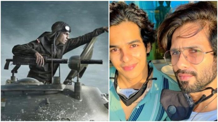 The first look of Ishaan Khatter's upcoming film 'Pippa' is out- the actor has a different avatar