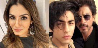 Raveena Tandon called Aryan Khan's arrest 'shameful'- said - heart breaking
