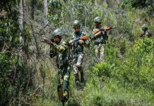 Poonch Encounter: Operation in the forests adjacent to the LoC for 9 days